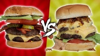 IN-N-OUT VS FIVE GUYS – HOMEMADE