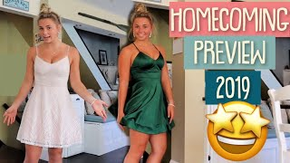 Katies Homecoming Dresses Arrived! | Homecoming Preview 2019