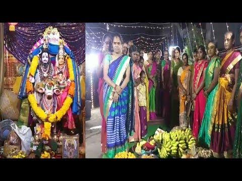 శ్రీ శ్రీ శ్రీ బాల గౌరమ్మ  సారి మహోత్సవం అక్కయ్యపాలెం in Visakhapatnam.