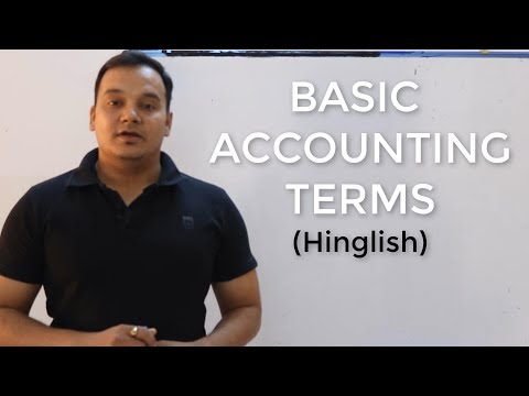 Lesson 1:: Basic Accounting Terms