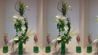 Japanese Floral Arrangements | Beautiful Modern Flower | Center Flowers Home With Qouets