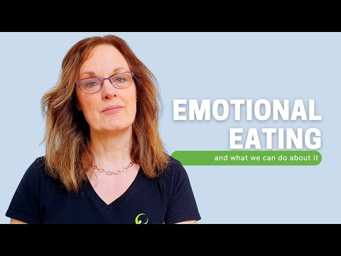 Emotional Eating and why we do it (voice)