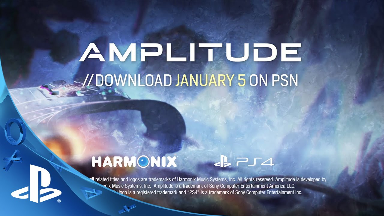 Amplitude Blasts Onto PS4 January 5th