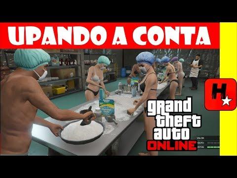 GTA V Online Unlimited MONEY $ UPANDO A conta dinheiro e rp  NO GTA 5 Online