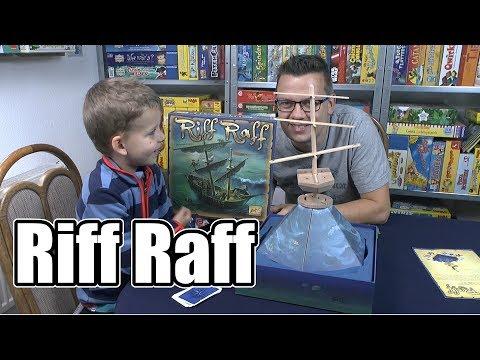 Riff Raff (Zoch) - ab 8 Jahre - eines der besten / coolsten Geschicklichkeitsspiele für Kinder?