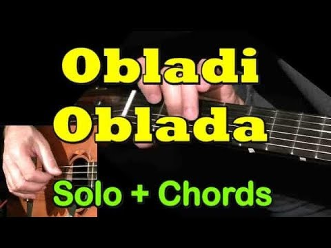 OBLADI OBLADA: Easy Guitar Lesson + Chords + TAB by GuitarNick