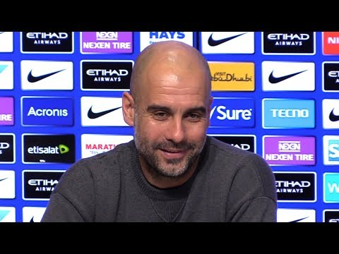 Pep Guardiola Embargoed Pre-Match Press Conference – Burton v Manchester City – Carabao Cup