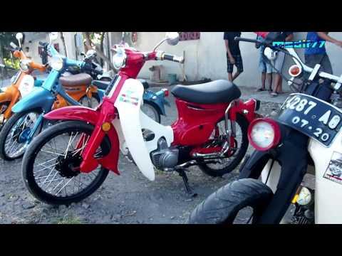Video Klasik Style   Komunitas Tebeng Pote Madura   Modifikasi Motor Tua   C70