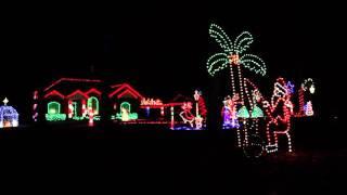 Best Christmas Light Show Remix - Wintons Light's