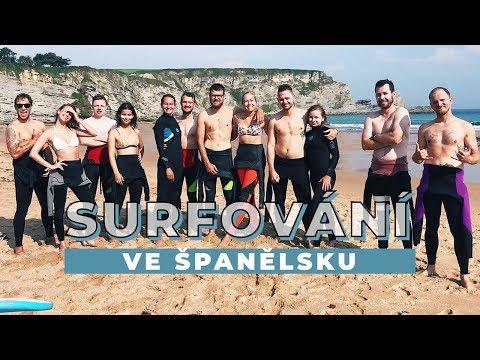 TÝDENNÍ VLOG #26 | Španělsko, surf, yoga a parta kámarádů!
