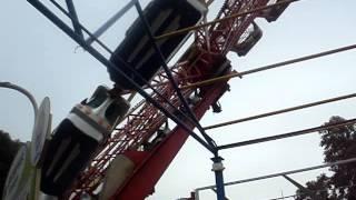 preview picture of video 'Enterprise Roller Coaster Essel World Bhai Dooj 2014'