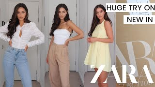 HUGE ZARA HAUL & ZARA TRY ON - NEW IN ZARA AUGUST 2020