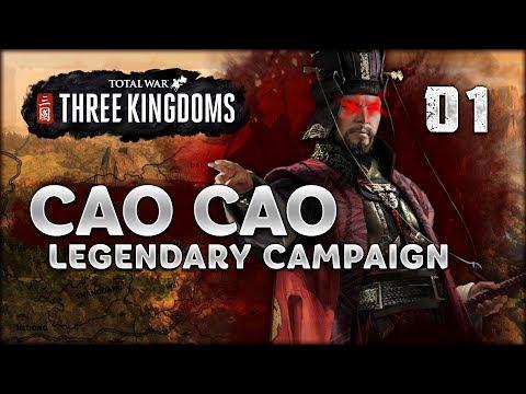 LEGENDARY CAO CAO - Total War: Three Kingdoms - Part 1