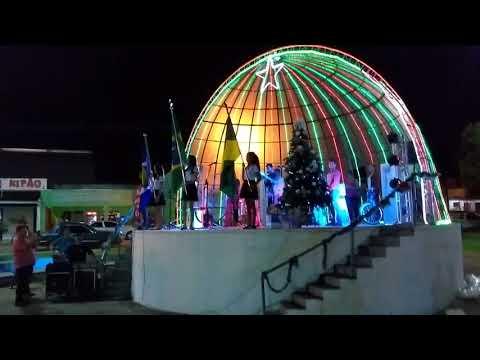 Projeto de Música na escola FLAUTA DOCE / FANFARRA de Alto Garças apresentando em Pedra Preta
