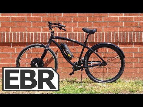 Falco Hx 500 Front Wheel Video Review – Cruiser Bicycle Electric Bike Conversion