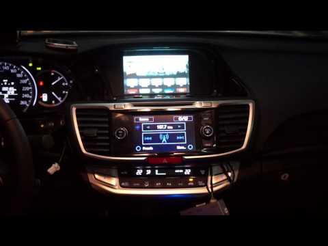 Honda Accord Mirror Link Iphone5 Wireless