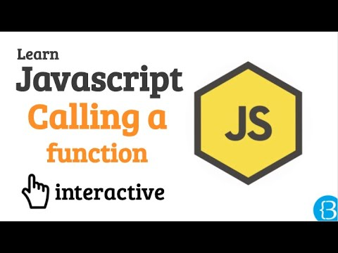 09 How to call a function - Javascript Beginner Exercises Tutorial Interactive