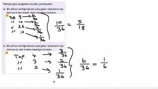 Eğitim Vadisi 10.Sınıf Matematik 5.Föy Sayma ve Olasılık 2 Konu Anlatım Videoları