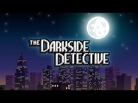 The Darkside Detective - Release Date Trailer thumbnail