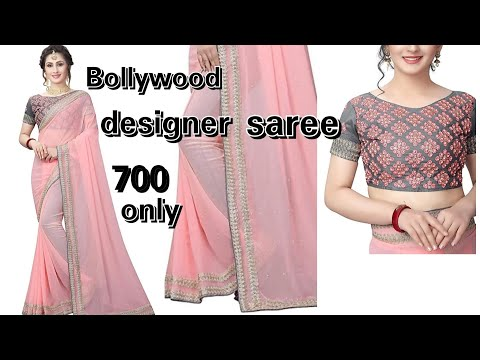 2be16dc6d4 unboxing-new-design-red-saree-from-flipkart-sarees-online-shopping ...