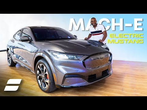 NEW Electric Mustang Mach-E In London: Acceleration Test, Interior & Exterior Review | 4K
