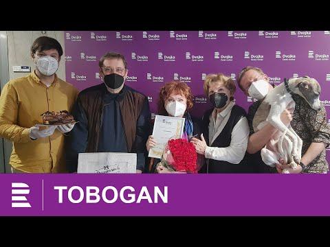 Naďa Konvalinková slaví své 70. narozeniny v Toboganu