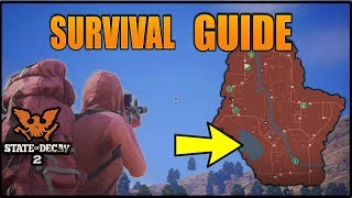 State Of Decay 2 - BEST BASES, WEAPONS & MORE  (Tips & Tricks) MEAGHER VALLEY SURVIVAL GUIDE