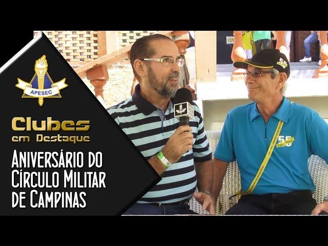 Clubes em Destaque 05-05-2015 Aniversário do Círculo Militar de Campinas
