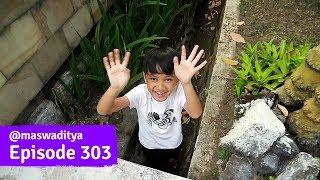 Acan Masuk Got Rumah Nenek di Malang!