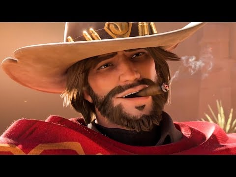 "OVERWATCH - ALL Cinematics (Blizzcon 2018) + NEW Animated Short ""Reunion"""