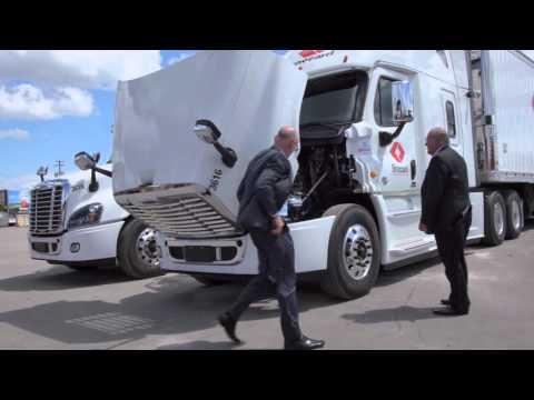 Brossard Leasing Success Story | Freightliner Trucks