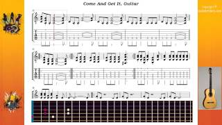 Come And Get It - Acdc - Guitar