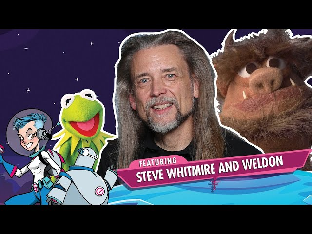 GalaxyCon LIve with Weldon the IT Guy & Steve Whitmire