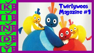 Twirlywoos Magazine. Great BigHoo, Toodloo, Chickedy and Chick learn
