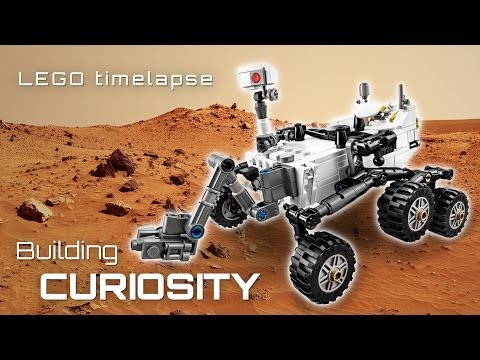 Vidéo LEGO Ideas 21104 : Rover Curiosity du laboratoire scientifique pour Mars de la NASA