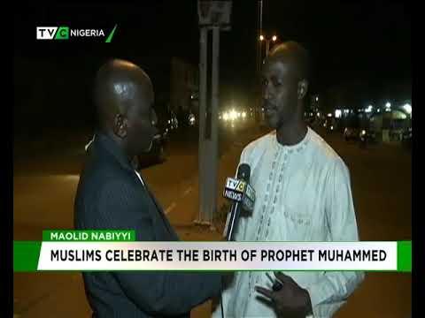 Muslims celebrate the birth of Prophet Muhammed