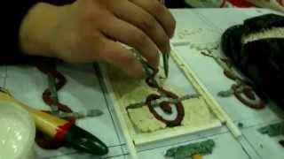 preview picture of video 'Mosaic design  Madaba   Jordan'