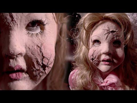 BROKEN DOLL Halloween Makeup Tutorial [feat. Rob Dyke]