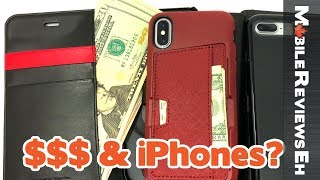 Top 10 iPhone SE/iPhone 8 and iPhone X Wallet Cases - Which one SHOULD you get?