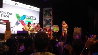 """Ting Tings """"Super Critical"""" SXSW 2015 @ Radio Day Stage"""