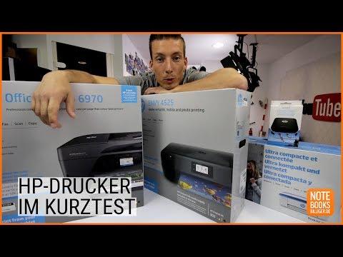 HP-Drucker im Kurztest mit TutopolisTV - Deutsch / German ►► notebooksbilliger.de
