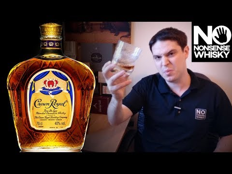 Crown Royal Canadian Blended – No Nonsense Whisky Reviews #28