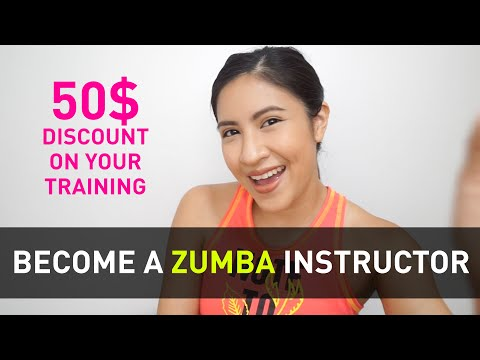 How To Become A Zumba Instructor | 50$ Discount on your Training ...