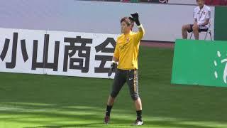 40分前の練習時間になってもイベントをしていたので、行こうぜ、浦和♪を歌いだす!浦和レッズvsベガルタ仙台2018年10月7日Jリーグ