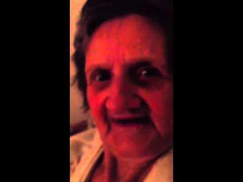 Granny saying fuck you