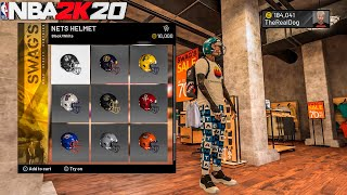*NEW* SECRET JERSEY IN NBA 2k20! NEW FOOTBALL HELMET AND CLOTHES + MORE! BEST OUTFITS IN NBA 2k20!