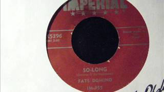 SO LONG - FATS DOMINO