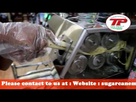 The Table Top Sugarcane Juice Machine With Has More Roller Youtube