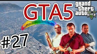 Завершение обучение в Летной Школе в GTA5 #27 - Grand Theft Auto V