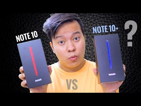 Samsung Galaxy Note 10 vs Note 10+ | The Real Difference 😳😳 ??